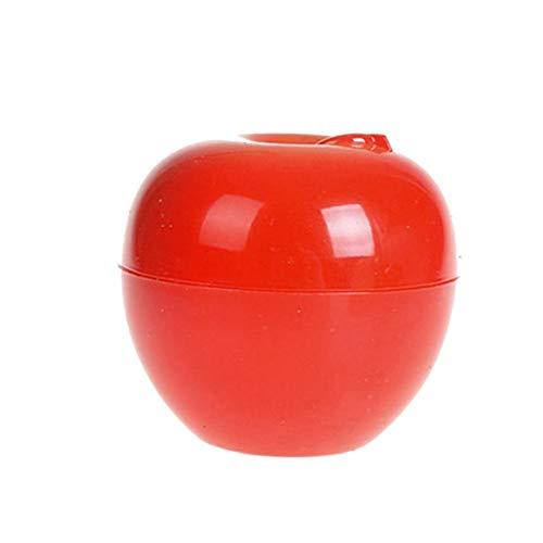 Fruit Forme Crème Bouteille multi Utilisation Mignon pot cosmétique Belle Lotion Container Bouteille vide Pot (pomme)