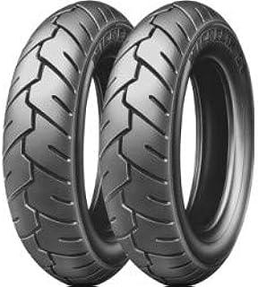 Paar Reifen Michelin S1 3 50 10 59j Dot 2017 Für Piaggio Vespa 125 Px 200 Px T5 Auto