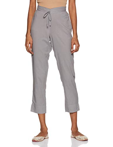 Amazon Brand – Myx Women's Fitted Slim Pants
