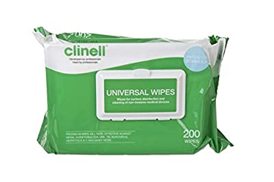 Clinell Universal Sanitising Wipes by Clinell