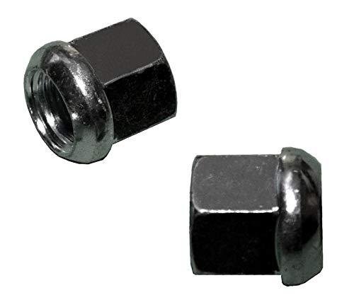 FKAnhängerteile 10 Stück - Kugelbundmutter - Radmutter - M22 x 1,5 - DIN 74361-8 A - verzinkt