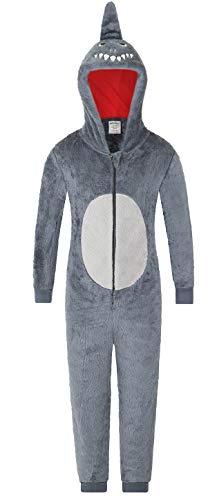 The PyjamaFactory Mono para niños con diseño de tiburón a juego para bebé