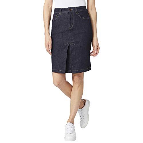 Pepe Jeans Jade Skirt Falda, Azul (Raw 000), Medium para Mujer