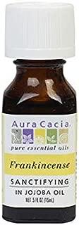 Aura Cacia Frankincense Essential Oil (in jojoba Oil) | 0.5 fl. oz. | Boswellia Sacra