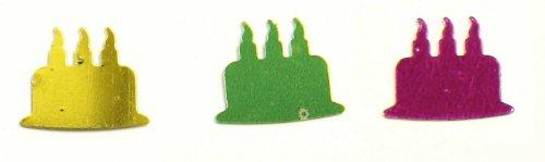 Confettis de table - Gâteaux x 5 g
