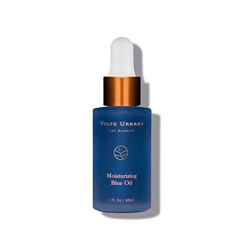 Aceite azul hidratante Volto Urbano | Los antioxidantes de las vitaminas C y E brindan protección radical libre a la piel. Suero de vitamina C para curar la piel seca.