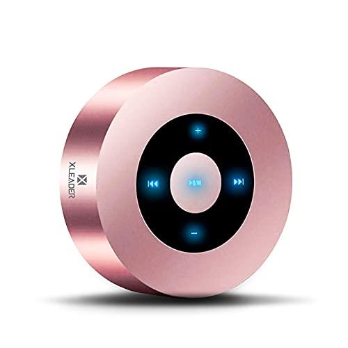 XLEADER SoundAngel A8(3 Gen) Altavoz Bluetooth Táctil de 5W con Estuche Impermeable IPX7, 15H...