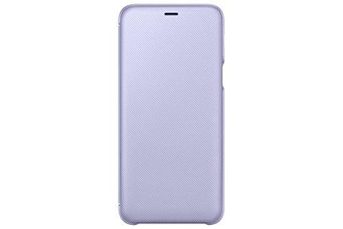 SAMSUNG EF wa605Portafoglio Cover per Galaxy A6Plus Viola