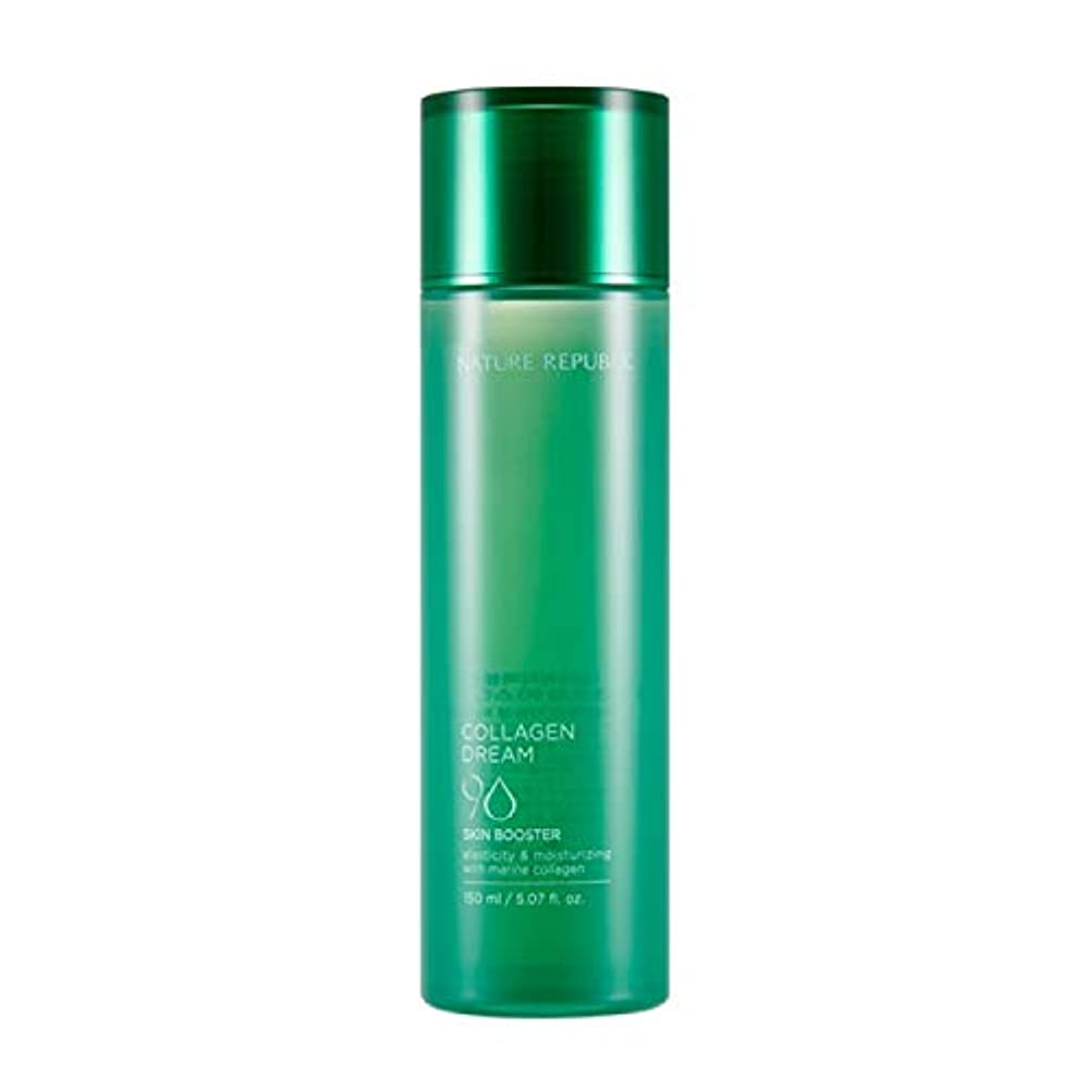 美人安らぎベットネイチャーリパブリック(Nature Republic)コラーゲンドリーム90スキンブースター / Collagen Dream 90 Skin Booster 150ml :: 韓国コスメ [並行輸入品]