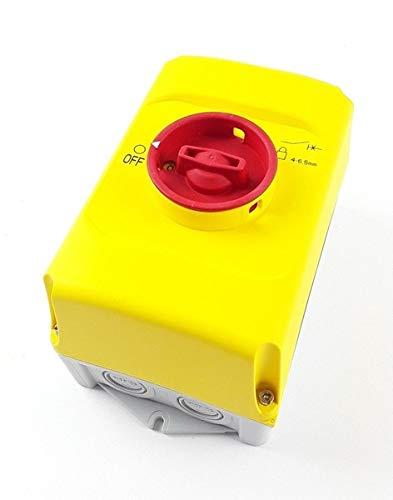 ABB IB32-Y 1SAM201911R1011 Isolierstoffgehäuse rot/gelb NOT-AUS, IP65, 3fach abschließb, Grau