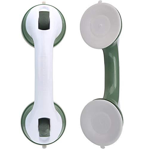 Asidero de Baño -YUESEN Con Ventosas Para Mango de Seguridad Portátil Con sin Perforaciones,Para Asa de Seguridad de Baño de Ducha Para Niños y Ancianos
