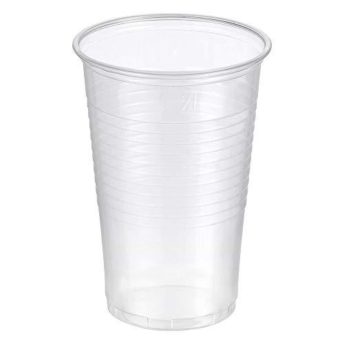 200 Stk. Trinkbecher transparent klar 0,2 l, 200 ml, PP, Ø 70 mm