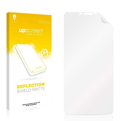 upscreen Entspiegelungs-Schutzfolie kompatibel mit Bluboo Dual – Anti-Reflex Bildschirmschutz-Folie Matt