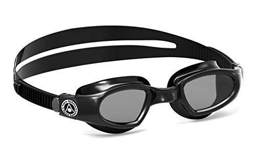 Aqua Sphere Unisex-Youth Mako 2 Schwimmbrille, schwarz/getöntes Glas, Einheitsgröße