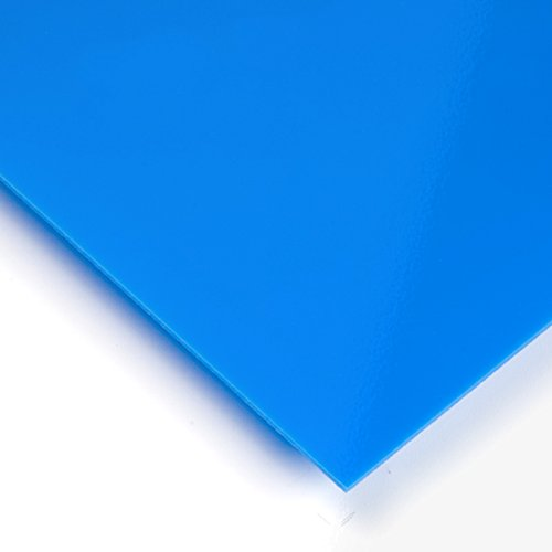 Metacrilato opaco Azul ultramar - 60 x 100 cm x 3 mm
