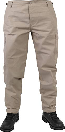 normani US Herren BDU Feldhose aus robustem Ripstop Material Farbe Khaki Größe XL