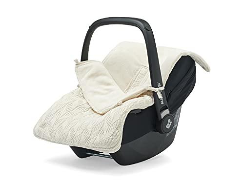Jollein 025-811-66038 Spring Knit - Saco de abrigo para silla de bebé