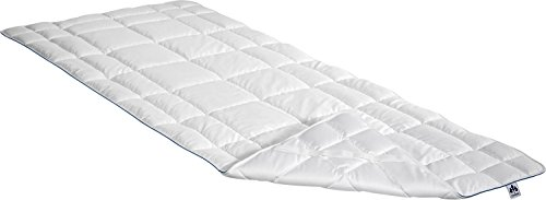 Irisette Matratzenauflage Textilfaser weiß Größe 90x200 cm