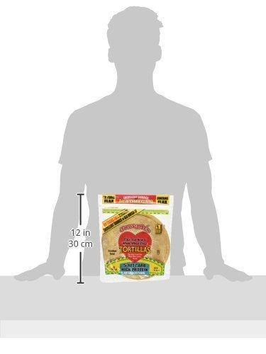 ArtMuseKitsMikash Joseph's Low Carb Tortilla, Flax, Oat Bran & Whole Wheat, 8 Inch, 6 Tortillas