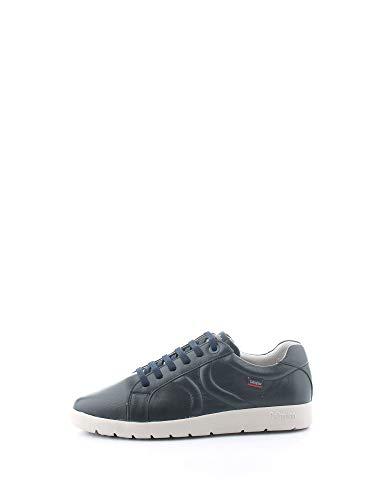 CALLAGHAN Scarpe Uomo Sneakers Basse 43700 Blu Pelle Taglia 45 Blu