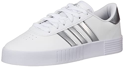 adidas Court Bold, Scarpe da Fitness Donna, Bianco (Ftwbla Plamet Ftwbla), 38 EU