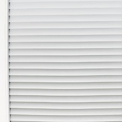 Gestreifte &urchsichtige elektrostatische Aufkleber, Sichtschutz-Haushaltsglasfolie, geeignet für Heimküchen, Büros T 40x300cm