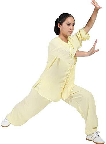 ZZX Frauen Kampfkunst Tai Chi Uniform Kung Fu Kleidung Halbarm Taekwondo Wushu Anzug Tai Chi Uniform Kleidung
