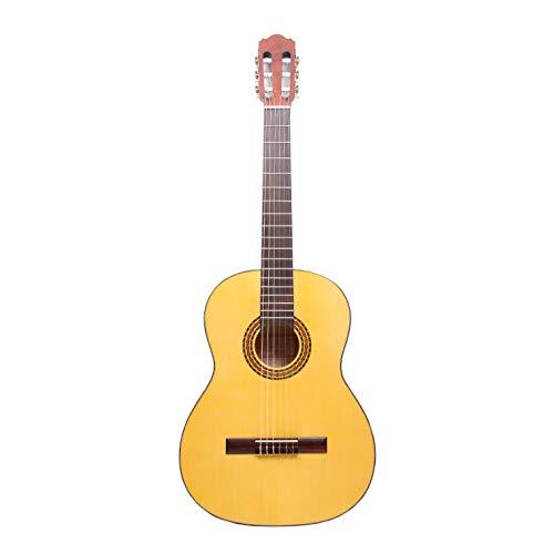 Hora Guitarra Clásica y Gig Bolsa | Española Modelo | Tamaño Real | Todo Macizo Instrumento