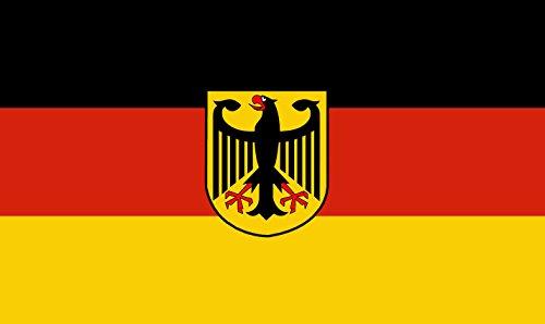 M & M MM Drapeau de l'Allemagne avec Motif Aigle, Multicolore, XXL, 150 x 90 x 1 cm, 16313