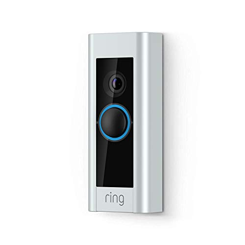 Ring Video Doorbell Pro, videodeurbel, set inclusief Chime en transformator, 1080p HD, tweeweg-audio, wifi, bewegingssensor