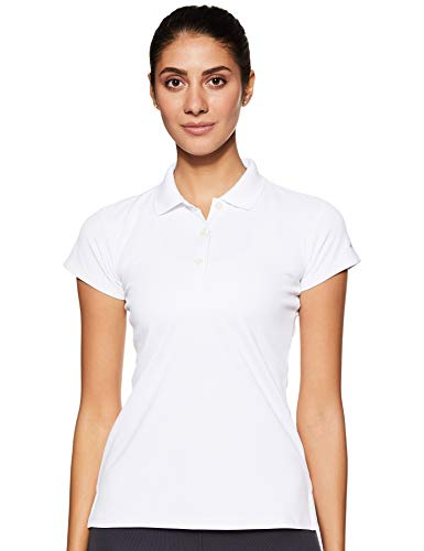 Columbia Damen Innisfree Short Sleeve Polo athletisch, Shirts, weiß, Medium
