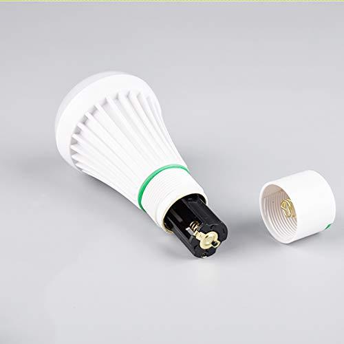 YWSZJ Linterna llevada Portable de la Linterna de la antorcha de luz de Camping Colgando Luz de Trabajo Lámpara de Emergencia Tienda Senderismo (Color : B)