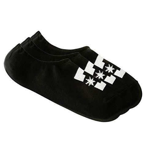 DC Shoes 3 Pack - Liner Socks - Sneaker-Socken - Männer - ONE SIZE - Schwarz