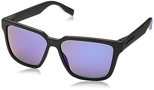 HAWKERS Motion Gafas de Sol, Negro/Azul, One Size Unisex Adulto