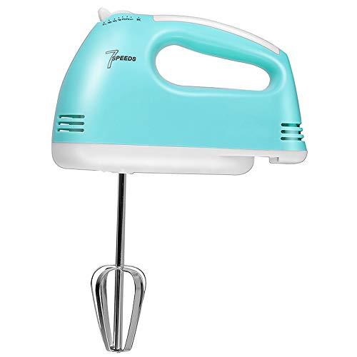 WHOJA Mixeur plongeant multifonction Eggbeater Mini ménage Mélangeur de crème automatique à main 7 vitesses Démontage en un clic Outils de cuisson de cuisine Mousseur à lait à la crème