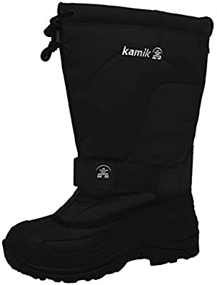 Kamik Men's Greenbay 4 Cold Weather Boot,Black,14 M