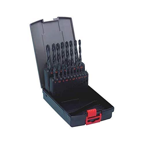 Würth Spiral Bohrer Set 19 tlg. HSS DIN Typ N 338 Sortiment Box Twist Drill Set 0634 4