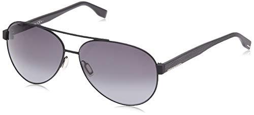 Hugo Boss BOSS 0648/F/S HD 10G Gafas de sol, Negro (Mtblk Black/Grey Sf), 64 Unisex-Adulto