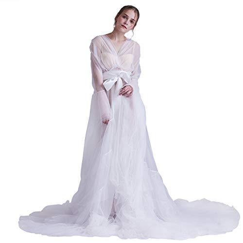 GRACEART Dam chiffong klänningar moderskap fotografi kläder maxiklänning spets festlig mammamode maxi spetsklänning fest mammaklänning
