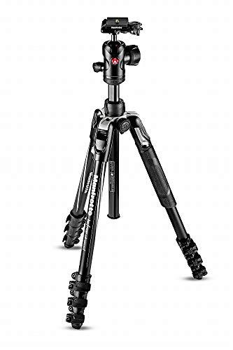 Manfrotto Befree Advanced Stativ mit Schnellverschluss, Reisestativ mit Kugelkopf, kompakt und tragbar, Aluminium Stativ für DSLR- und spiegellose Kameras, Kamerazubehör