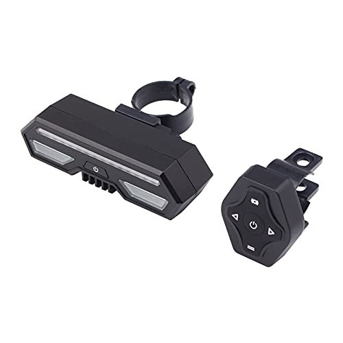 SM SunniMix Automatic Brake Light Wireless Remote Control Bike Rear Light Back USB Rechargeable Bike Tail Light