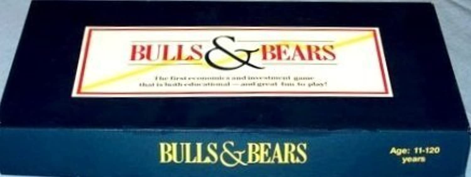 Bulls and Bears the Economic and Investment Game by Mario Fischel Toys and Games