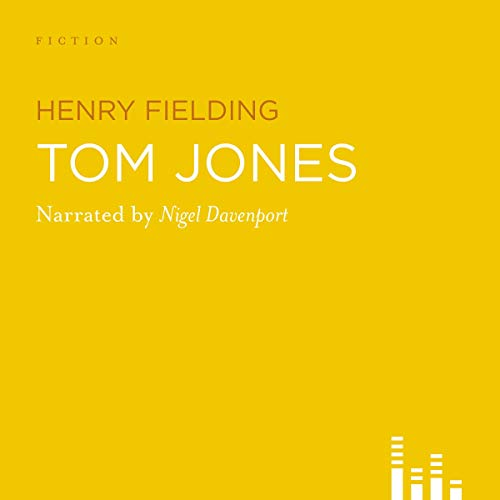 Tom Jones audiobook cover art