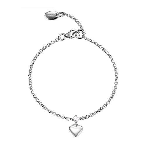 Esprit Kinder Armkette Armband Silber Herz ESBR91676A135