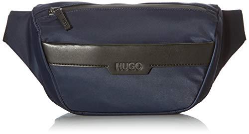 HUGO Luxown_Bumbag, Cinturón para Hombre, Navy410, Einheitsgröße