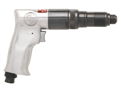 Chicago Pneumatic CP781 Pistol Grip Screwdriver with Roller Clutch And External Clutch Adjustment