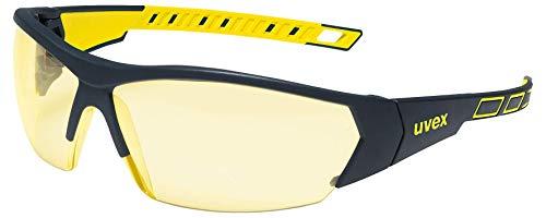 Uvex UX-OO-Works_Y I-Works veiligheidsbril, geel, uni maat, 5 stuks