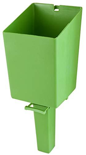 Windhager Fülltrichter Silos, Füllhilfe, Vogelfutter nachfüllen, Einfülltrichter für Vogelhäuser und diverser Tiernahrung, 06868, grün