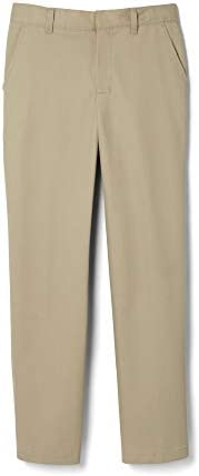 French Toast Boys Adjustable Waist Relaxed Fit Pant Standard Husky Khaki 10 Slim product image