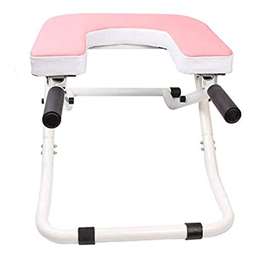 Affordable Wedsf Yoga Chair Headstand Bench Stand Gym Relieve Fatigue Practice Head Stand Shoulderst...